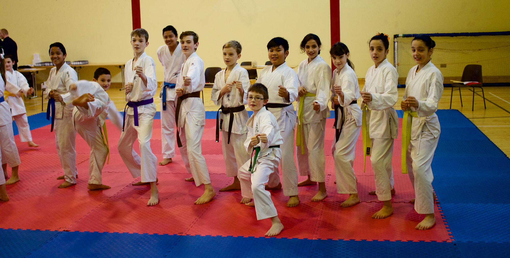 Members of Bushido Karate Club who competed at the SKIF Ireland National Championships